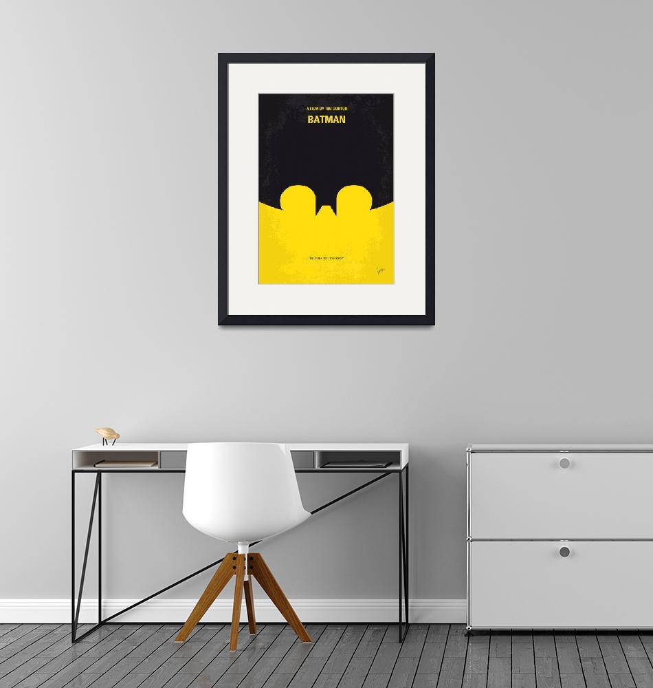"""No008 My Batman minimal movie poster""  by Chungkong"