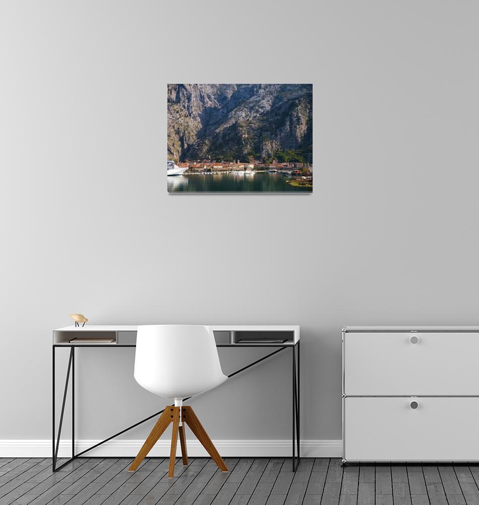 """Autumn View of Kotor, Montenegro""  (2018) by raetucker"