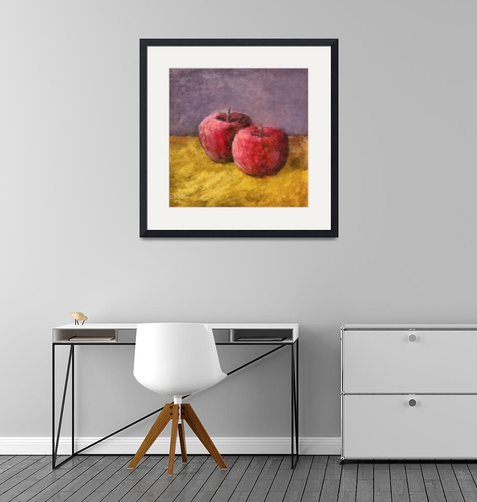 """Two Red Apples No. 1""  (2014) by Michelle1991"
