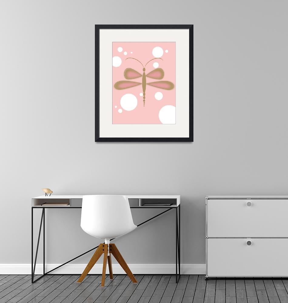 """""""PinkDragonfly""""  by Melvin_Stone"""