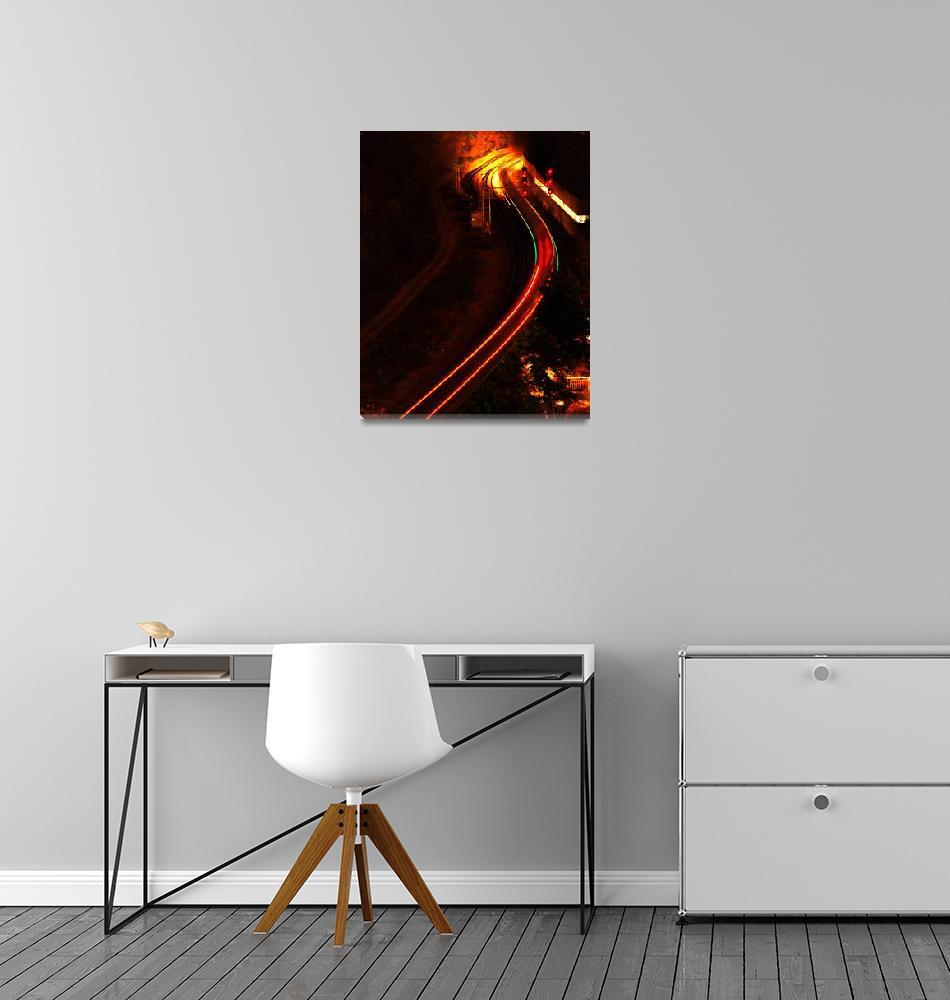 """Light Train""  (2007) by LunarImage"