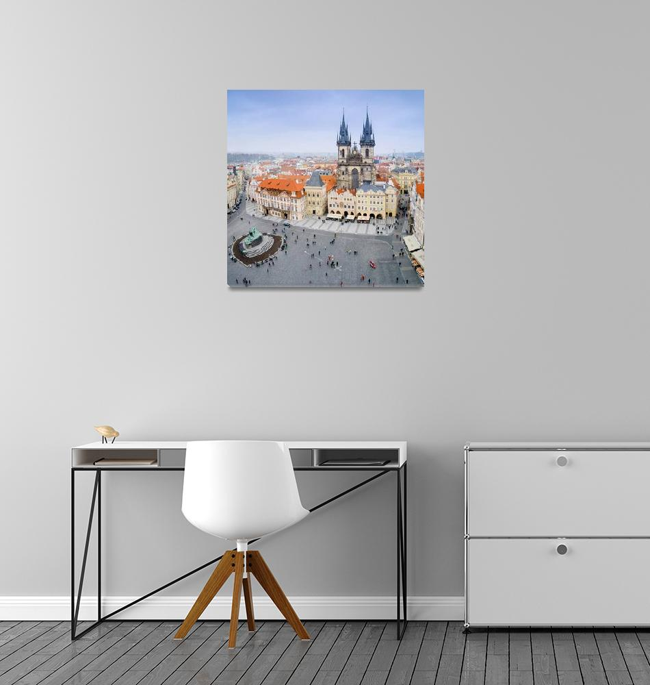 """Old Town Square, Prague, Czech Republic""  by artcomma"