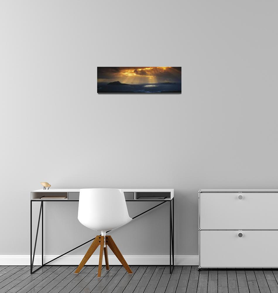 """""""Kenmare Bay, Dunkerron Islands, Co Kerry, Ireland""""  by DesignPics"""