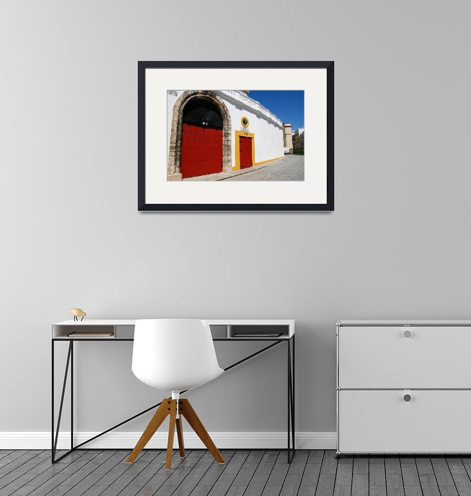 """Plaza de Toros in Seville""  (2019) by DavidFowler"