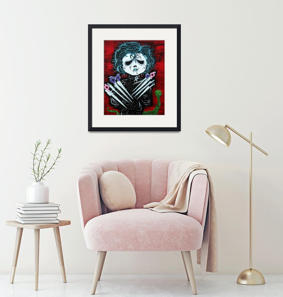 """Scissorhands""  (2014) by ArtPrints"