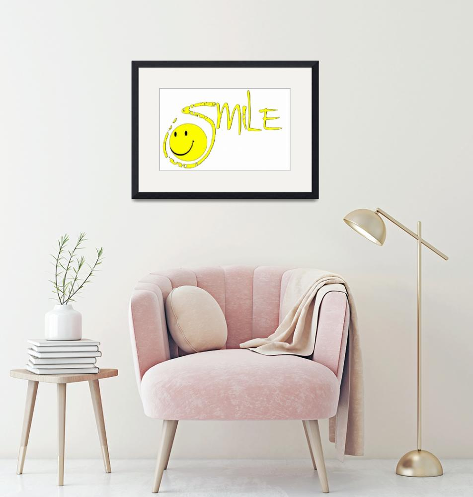 """""""smile outline""""  by lizmix"""