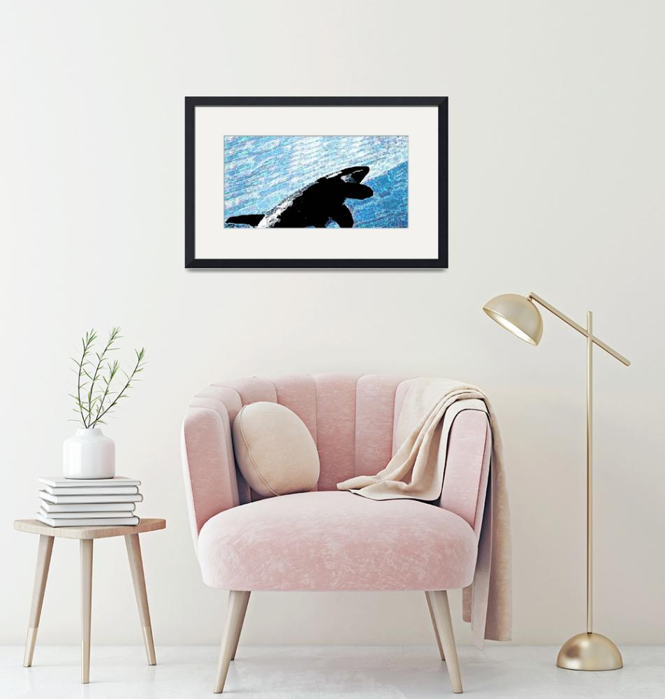 """""""orca painting-sm""""  by LUCORE"""