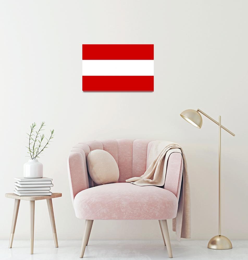 """Austria flag""  by tony4urban"