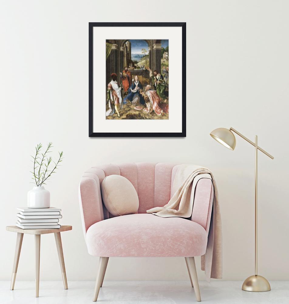 """""""The Adoration of the Magi""""  by FineArtClassics"""
