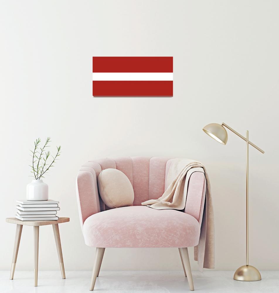 """""""tobias_Flag_of_Latvia""""  by ArgosDesigns"""