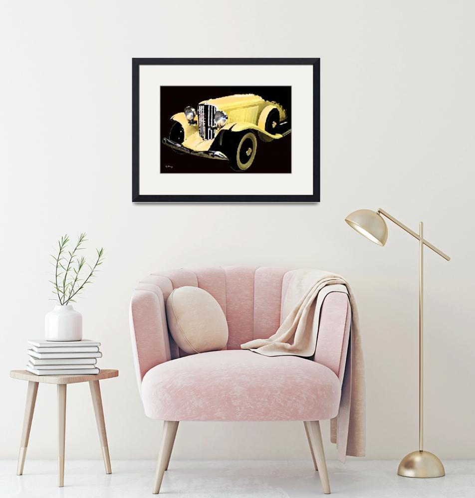 """""""Yellow Car""""  (2011) by byStangz"""