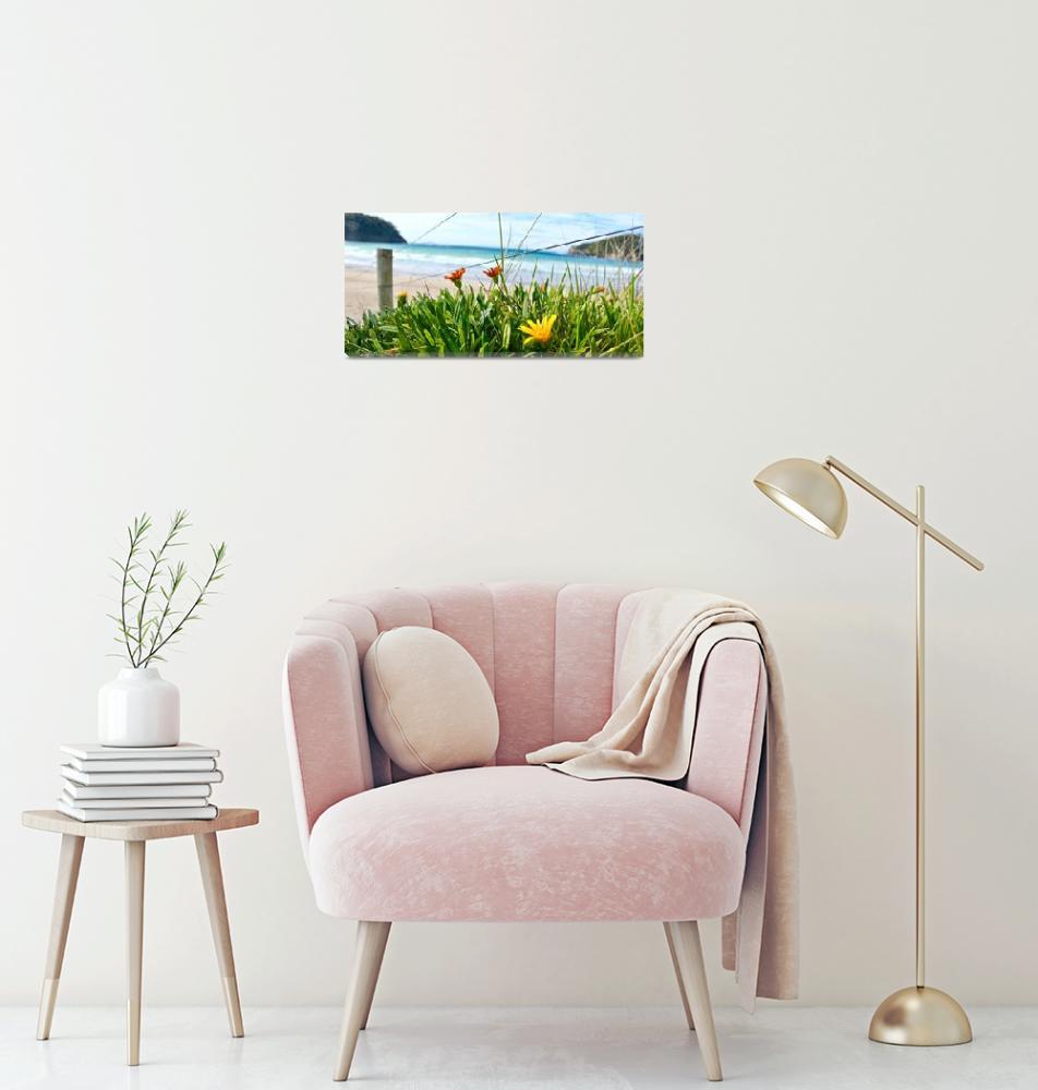 """New Zealand Beach Flowers""  by familytweed"