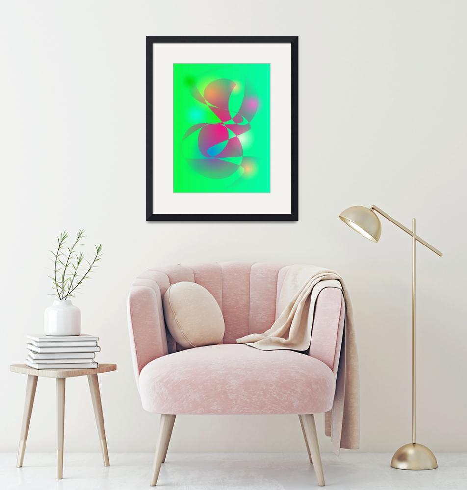 """""""Green and Deep Pink""""  by masabo"""