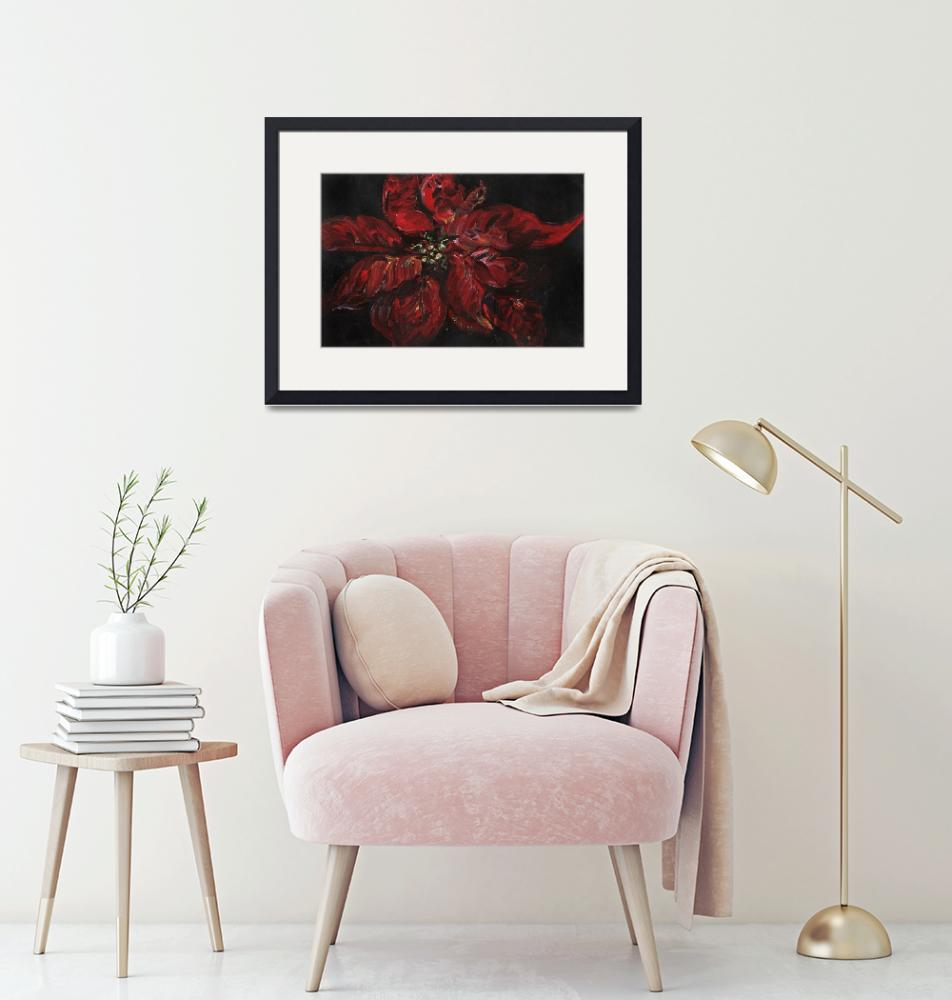 """""""Poinsettia""""  (2006) by nadinerippelmeyer"""