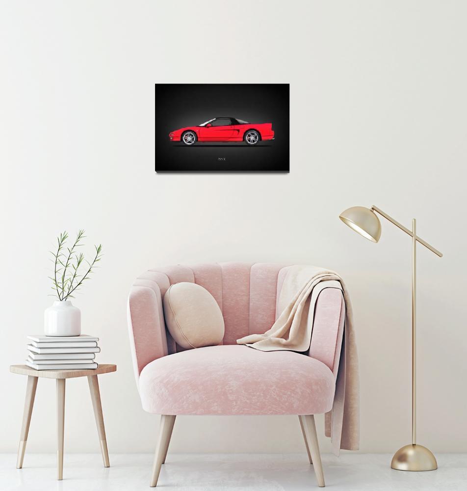"""The Honda NSX""  by mark-rogan"