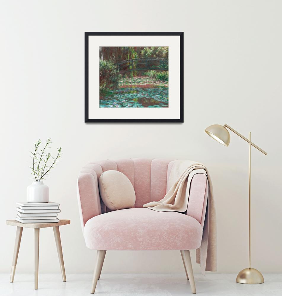 """""""Water Lily Pond by Monet"""" by FineArtClassics"""