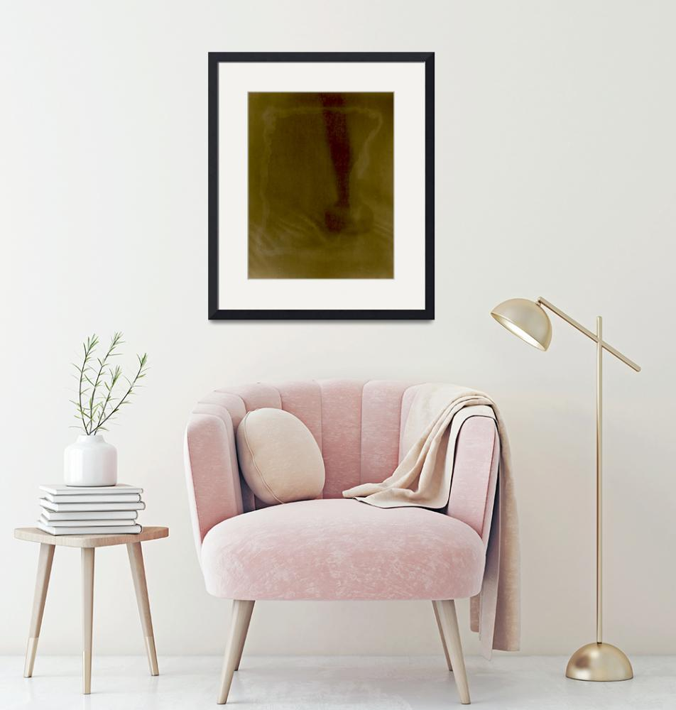 """""""chair leg red and gold sunprint""""  (2014) by jnanian"""