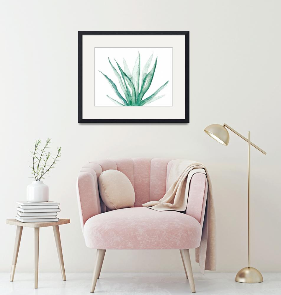 """""""Aloe Vera"""" (2017) by Mereoneal"""