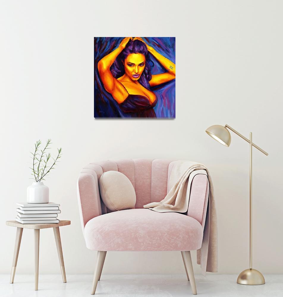 """Angelina Jolie""  (2008) by RamosStudios"
