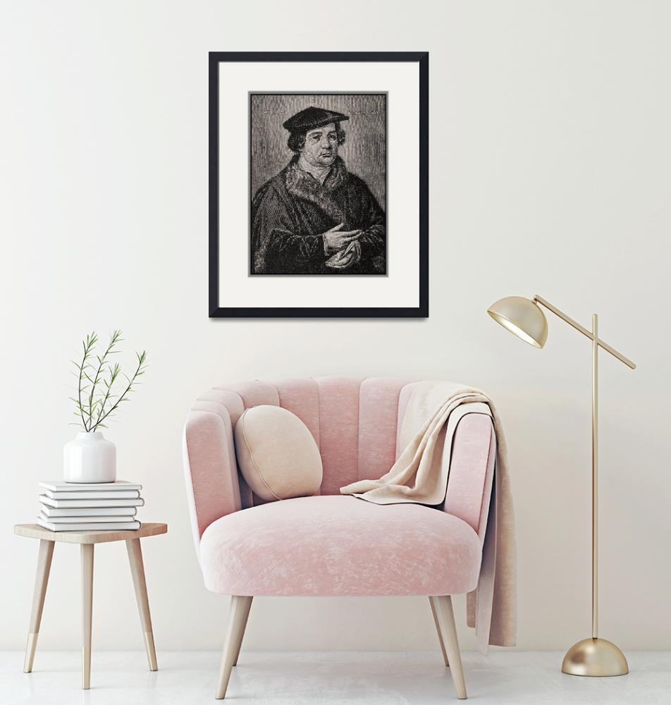 """""""Martin Luther Portrait Reproduction""""  (2014) by WilshireImages"""