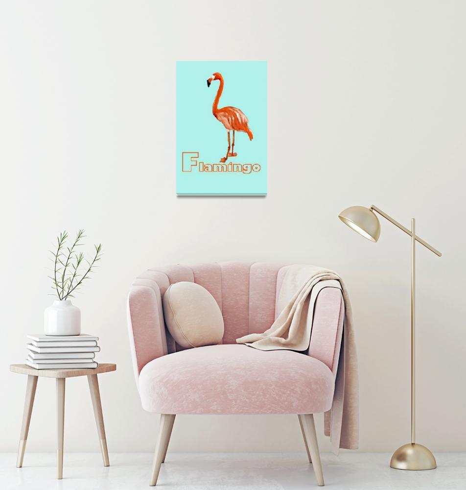 """flamingo""  by JennaAllyce"