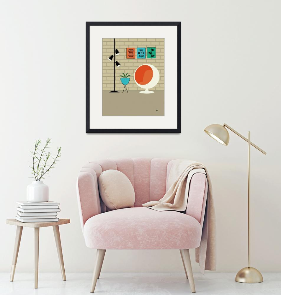 """""""Mini Mid Century Shapes No Cat""""  by DMibus"""