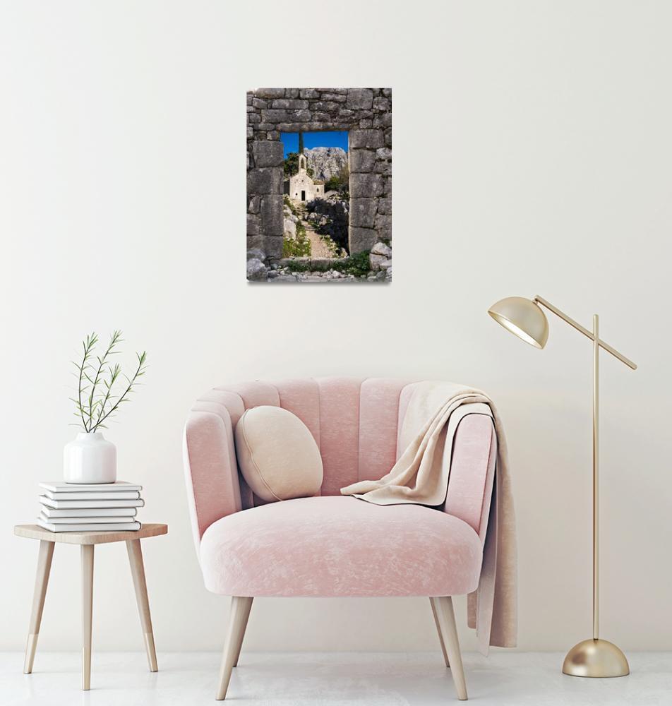 """""""Ruins in Kotor, Montenegro""""  (2018) by raetucker"""