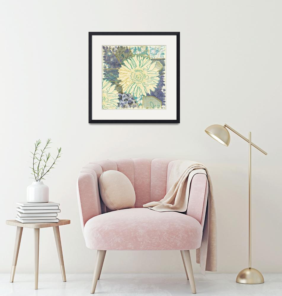 """""""Flower with Fabric""""  by artlicensing"""