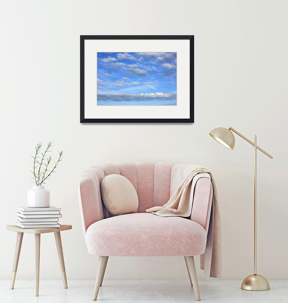 """""""Cotton wool clouds""""  (2015) by DaveHare"""