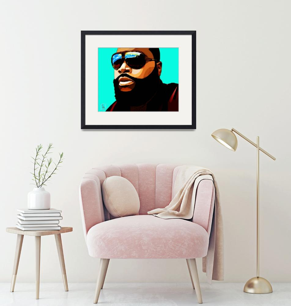 """""""Rozay""""  (2012) by D77TheDigArtisT"""