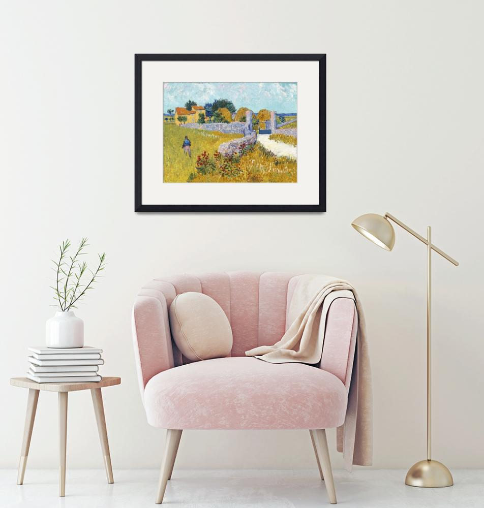 """""""Farmhouse in Provence by Van Gogh""""  by FineArtClassics"""