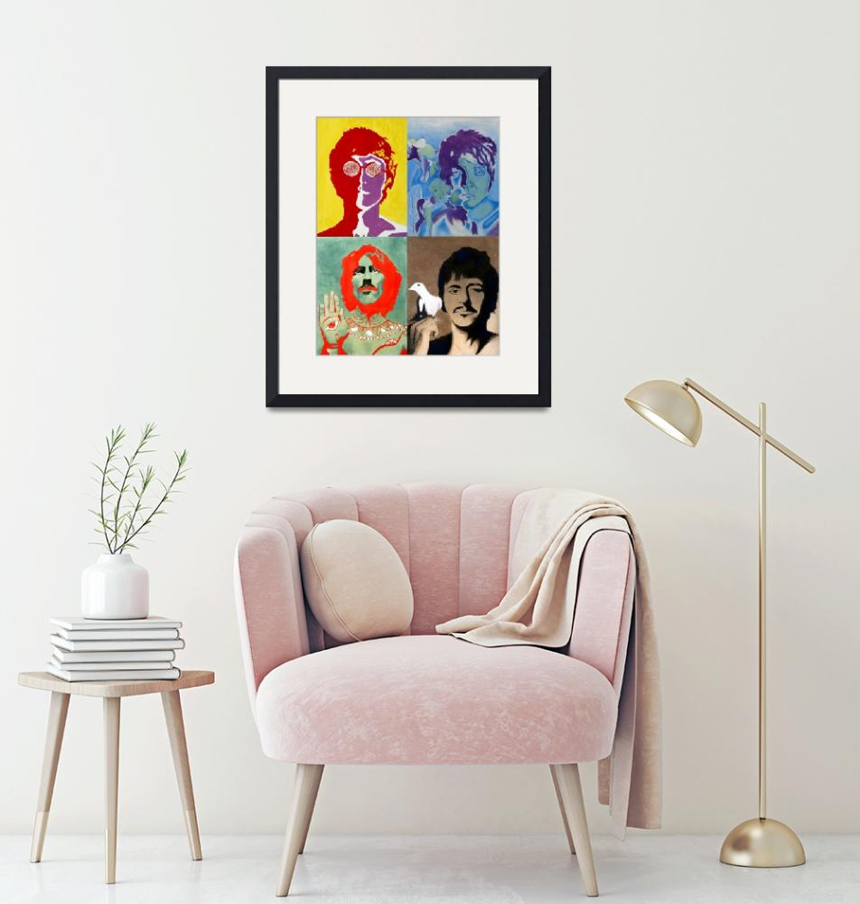 """""""The Beatles - Colour""""  (2008) by axemangraphics"""