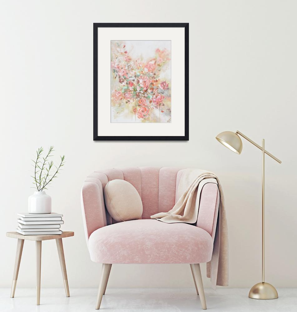 """""""Let Love Bloom - Pink Flowers""""  (2019) by ChristineBell"""