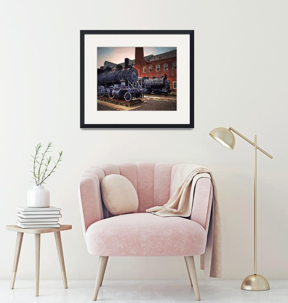 """""""Locomotive 299""""  (2018) by LouiseReeves"""