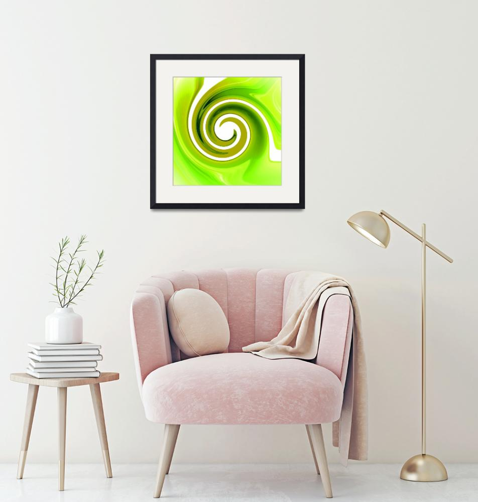 """""""Twisted Lime""""  (2008) by ArtPrints"""