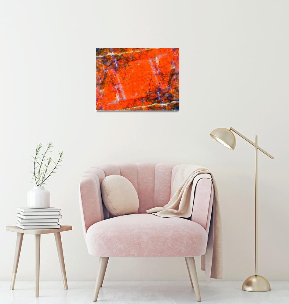 """Igneous Sharp Orange""  (2010) by chadammidown"