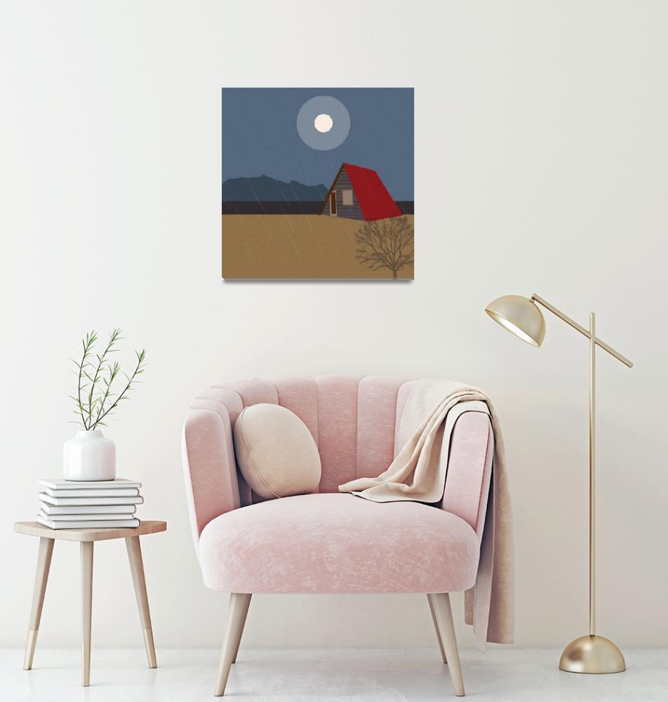 """Cabin on the beach""  by Design4uStudio"