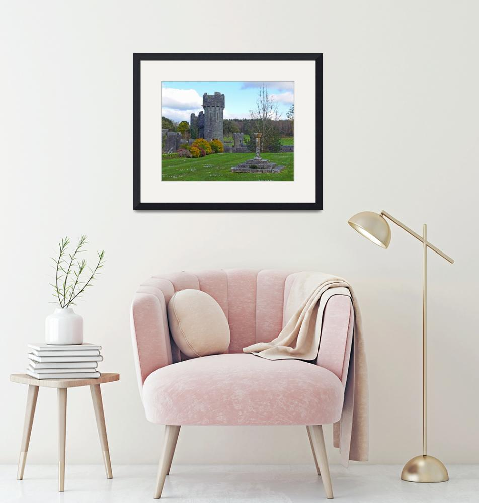 """""""Castle Tower, County Mayo, Ireland""""  (2008) by stockphotos"""