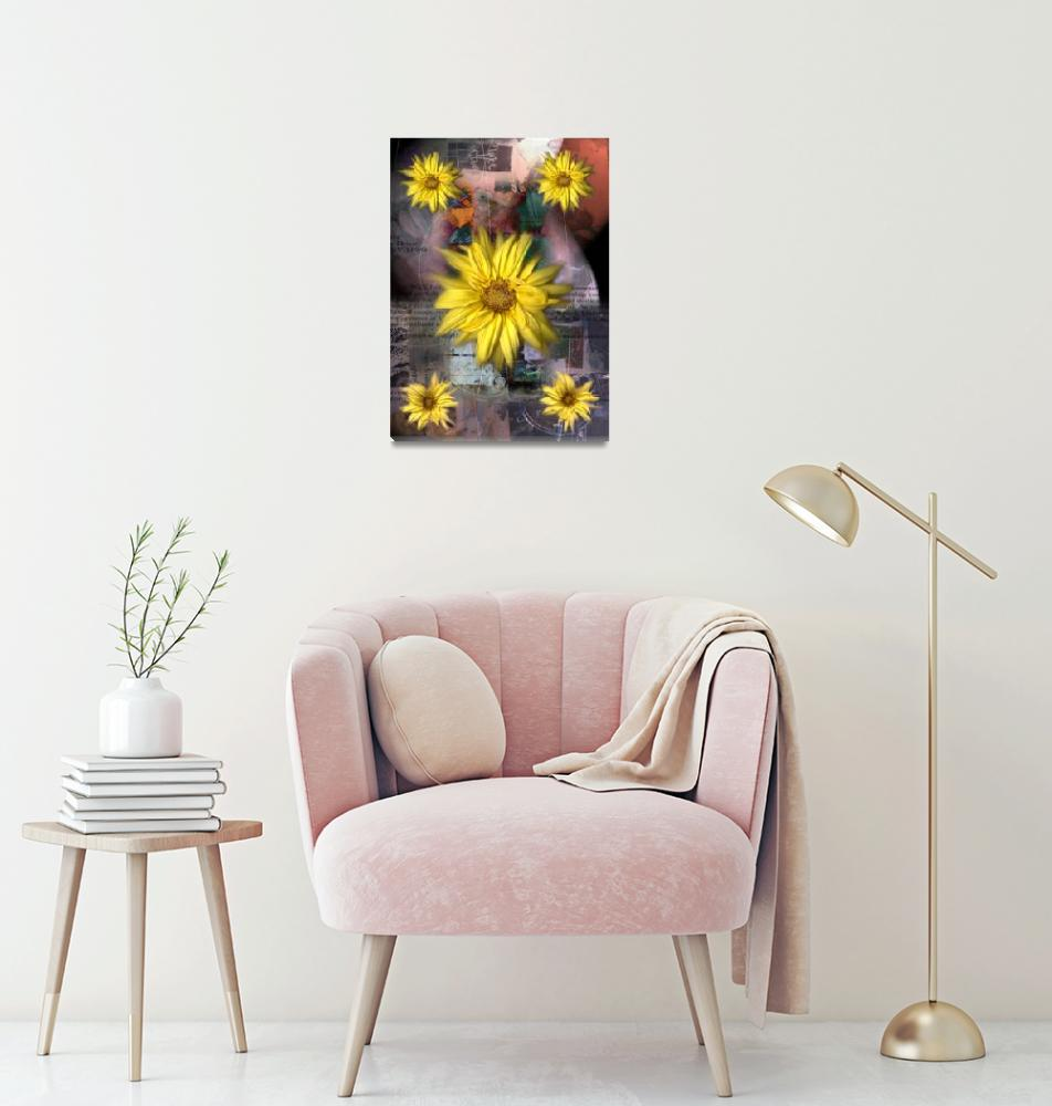 """Black-eyed Susan""  (2007) by karmadreams"