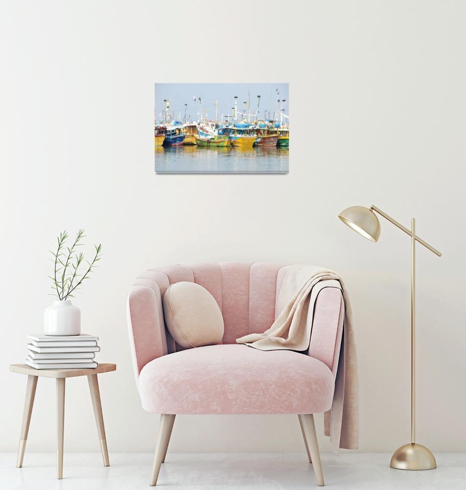 """Fishing Boats""  by BobDenton"