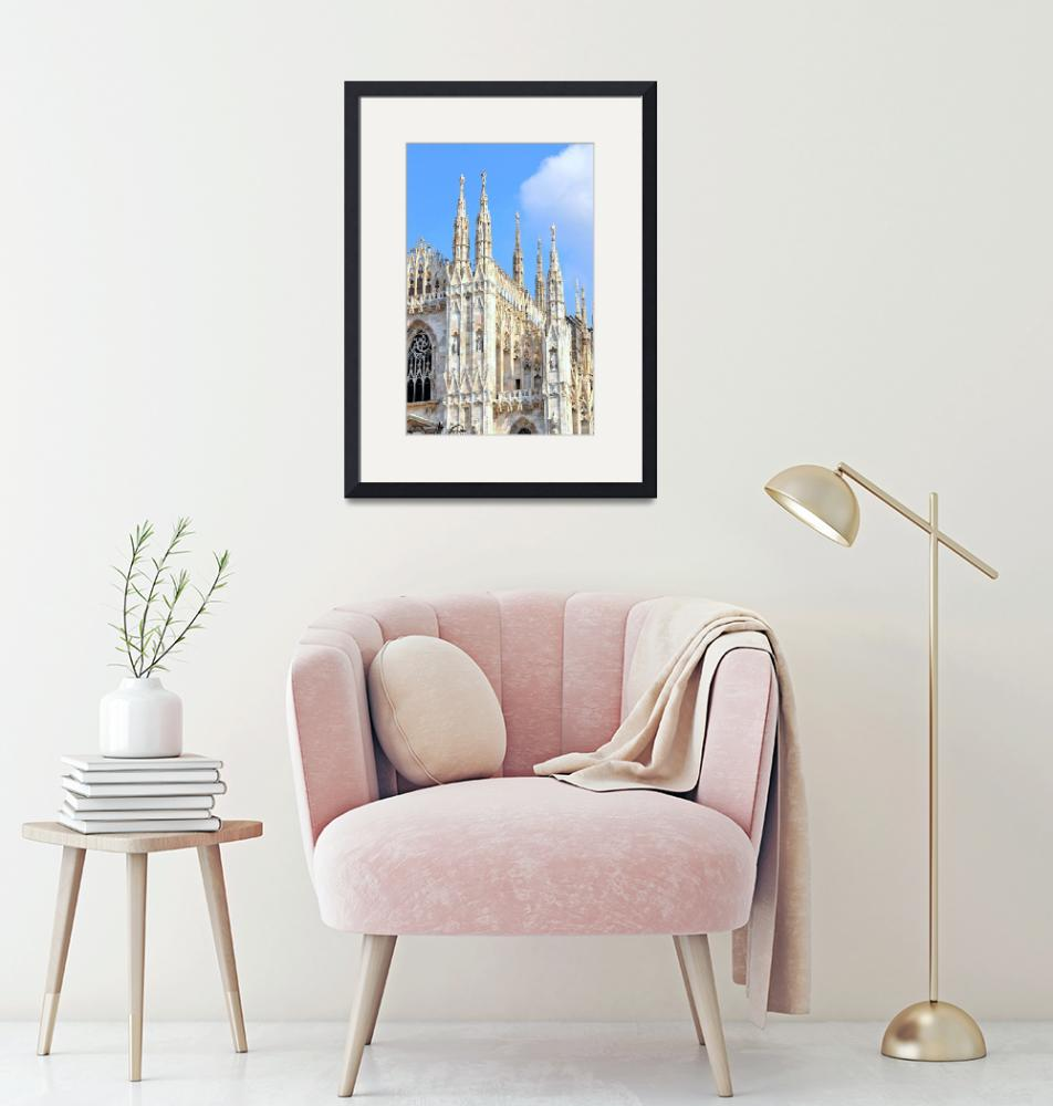 """Milan Cathedral""  (2010) by Barrywright"