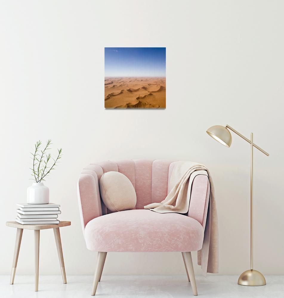 """""""Endless Desert Sand Dunes""""  by mlenny"""