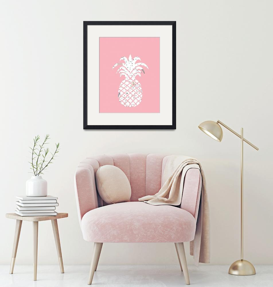 """""""Confetti Pineapple Pink"""" by miscstudios"""