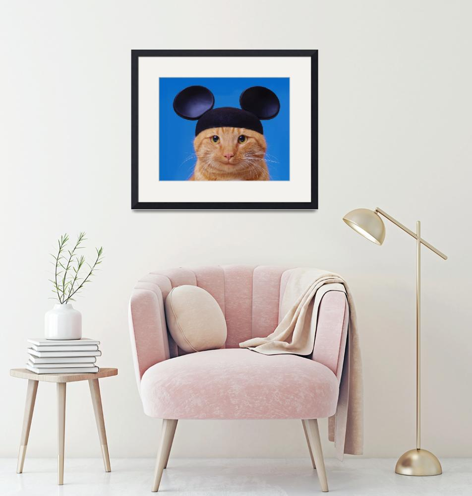 """""""Cat-With-Mouse-Ears""""  (2005) by johnlund"""