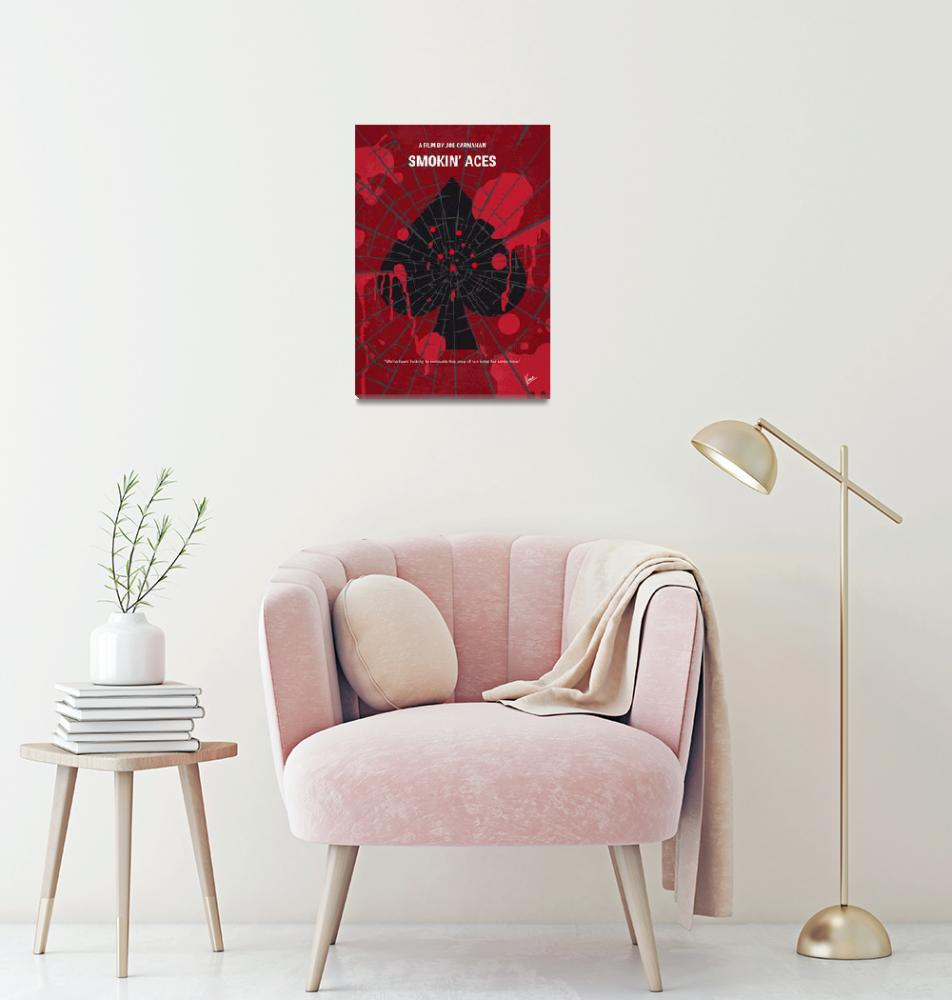 """No820 My Smokin Aces minimal movie poster""  by Chungkong"
