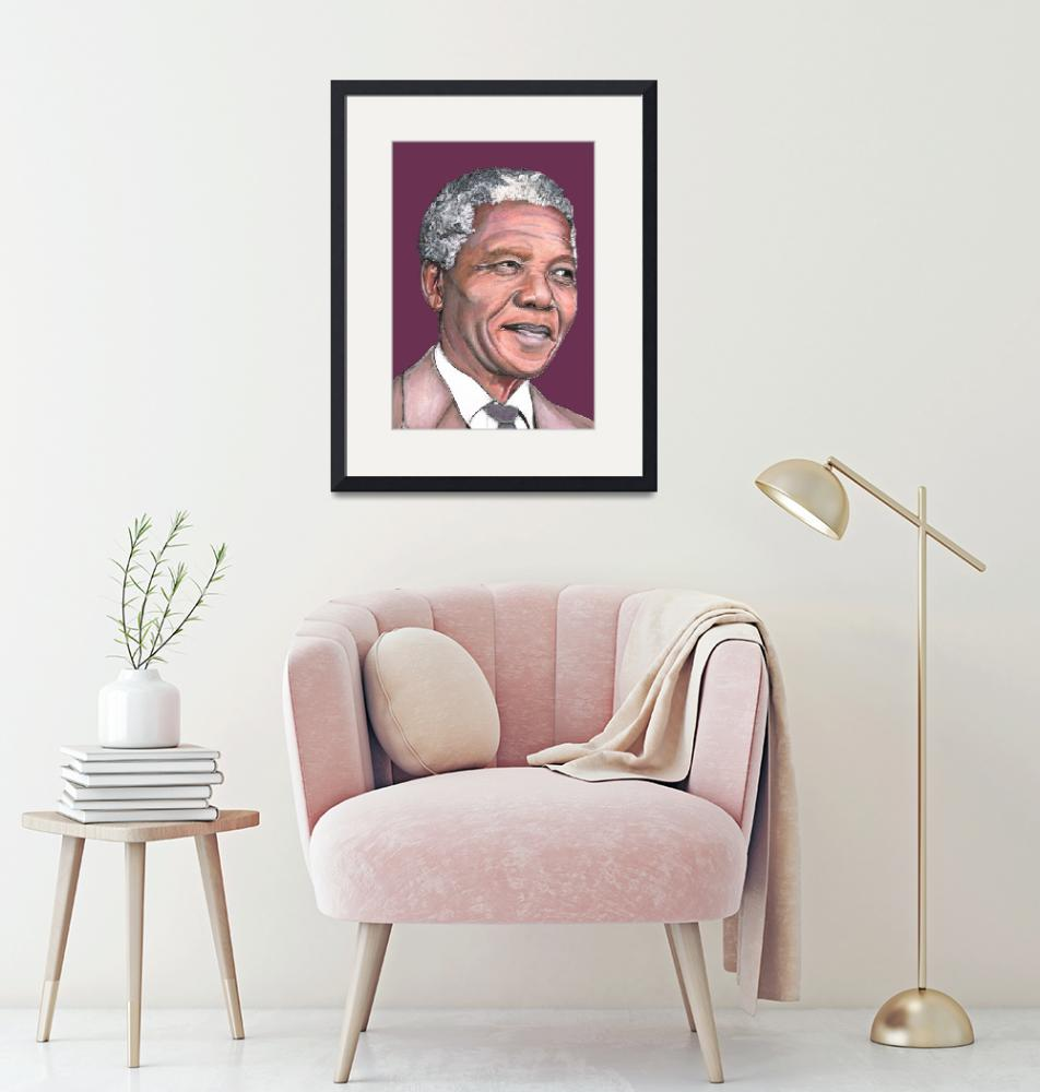 """Mr Mandela""  (2013) by kimwest"
