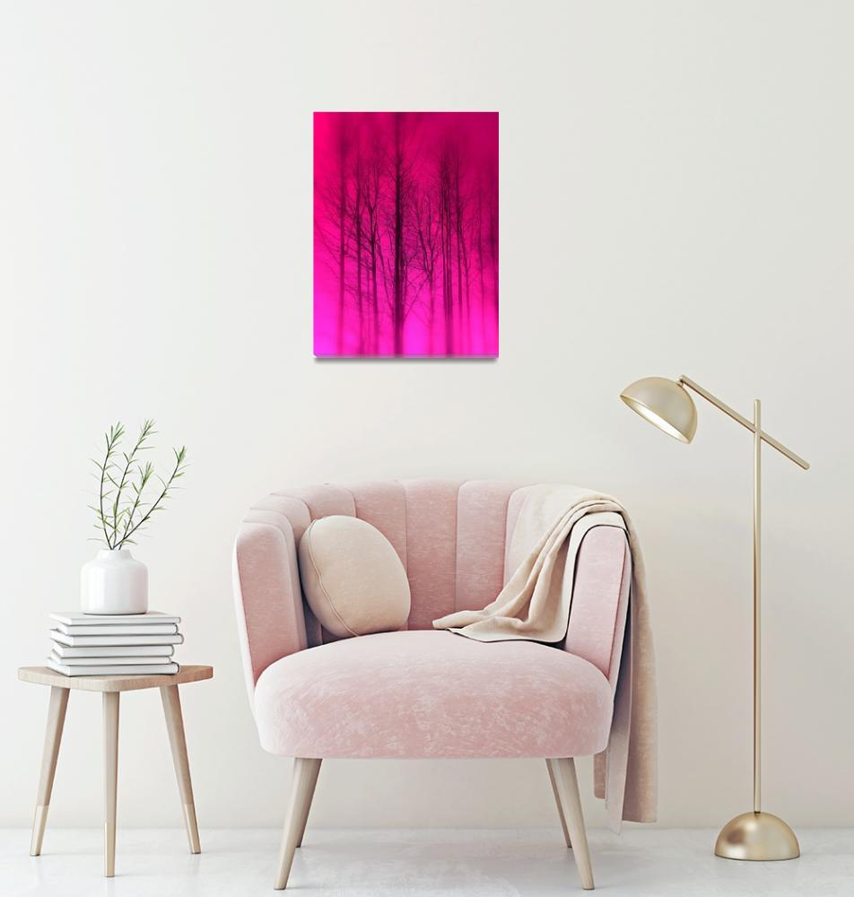 """Pink Trees""  (2009) by MadisonRose"