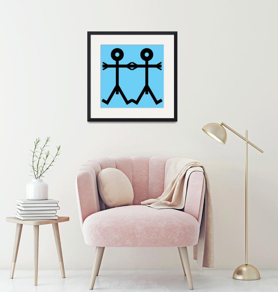 """""""Love Men Icon""""  by thisisnotme"""