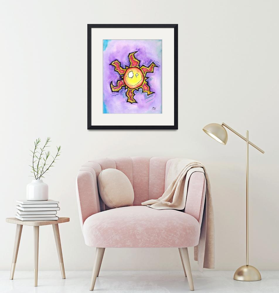 """""""Happy Sun""""  (2005) by mbooth"""