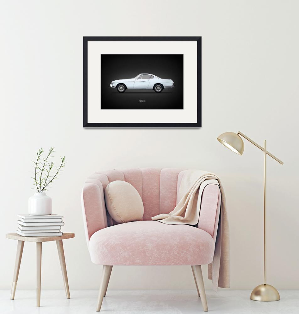 """""""The Volvo P1800S""""  by mark-rogan"""